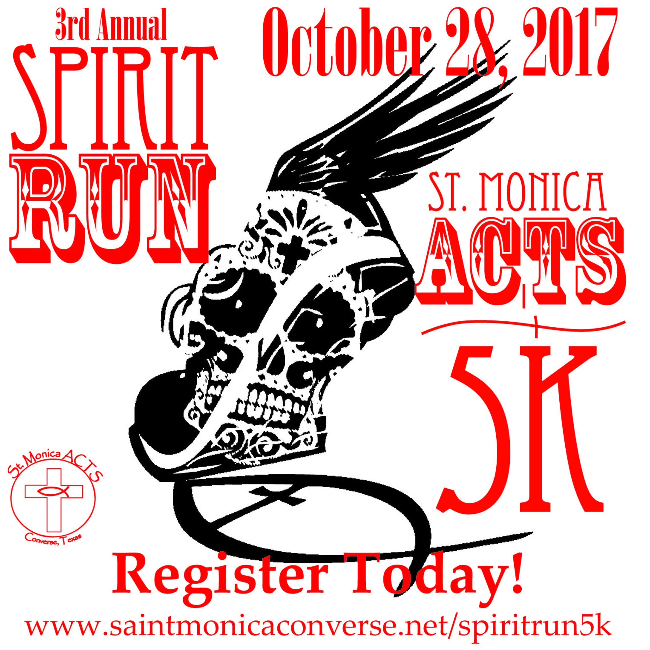 Acts 5k Spirit Run Promo1